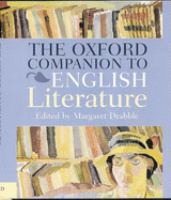 The Oxford companion to English literature / edited by Margaret Drabble